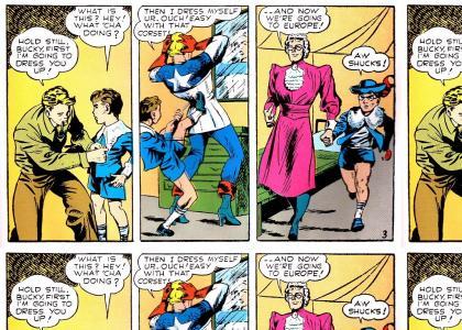 Captain America, No!