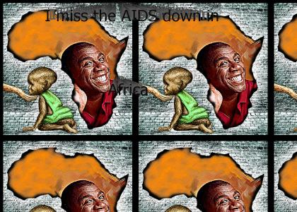 I Miss the AIDS Down in Africa