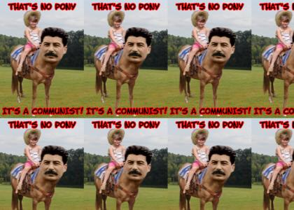 Commie Pony