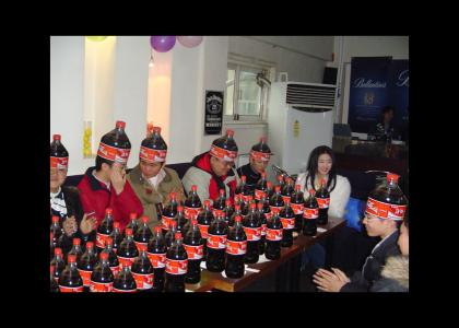 Asian Coke Party