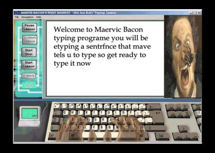 """MARVIS BEACON'S WHET BAHNDIT """"(Kill that Kid!)"""" Typing Lesson"""