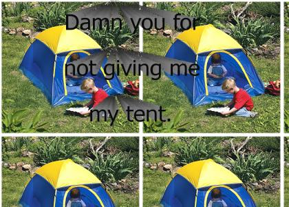 James Hetfield Really Wanted His Tent
