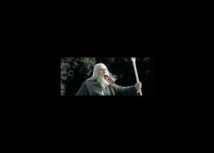 Gandalf Used Magic Whistle