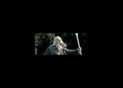Gandalf Used Magic Whistle