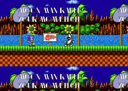 Sonic Gives Moon Man Advice
