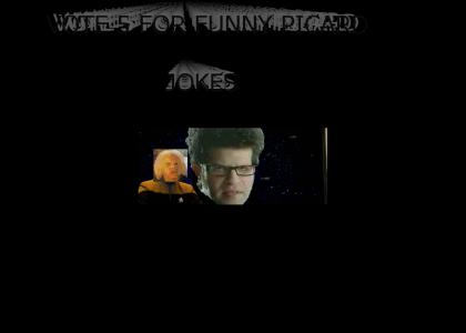 LOL FUNNY PICARD YTMND WITH PICARD AND CATS IN IT SO VOTE 5