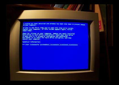 The Polite Blue Screen