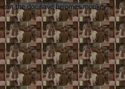 can the doc save helpmes monkey?