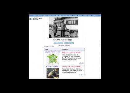 Hitler's Myspace Picture Profile (Now w/ 7 Pictures!)