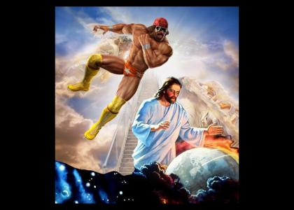 The Rapture won't happen, not if Macho Man Randy Savage has anything to do about it.