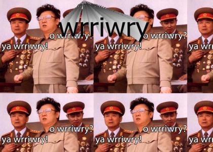 o wrriwry kim  jung il