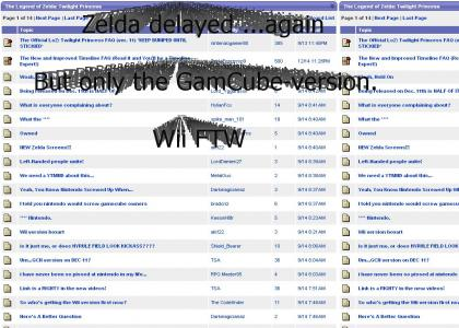 Zelda delayed ...again