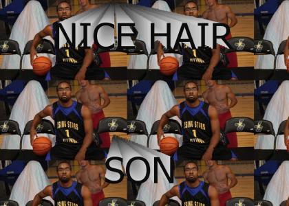 WELCOME TO UCF MARCUS JORDAN....HEY, NICE HAIR