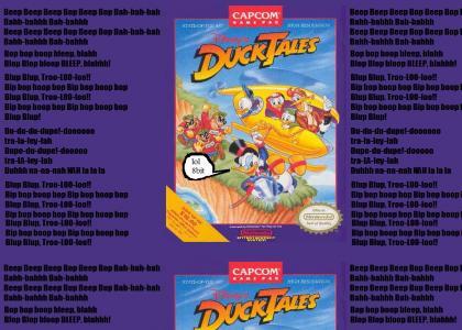 Interpretation: NES Ducktales Translation