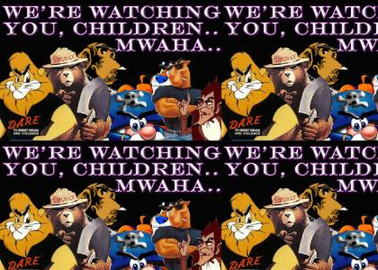 Don't Piss Off These Cartoons