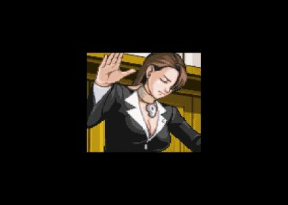 Cleavage! ...I mean, objection!