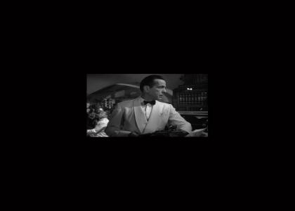 Bogart eats