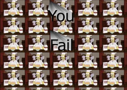 You fail