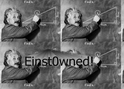 Einstein pwns Math!