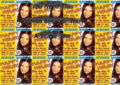 Jewish singles fail at life