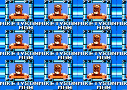 Rejected Mega Man Boss: Mike Tyson Man