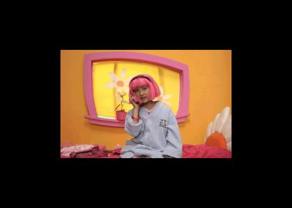 WTF you lazy town pedos!