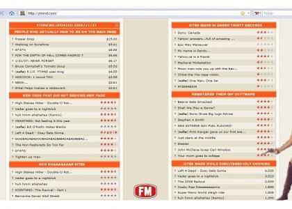 New YTMND Categories