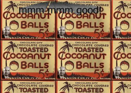 Nagin's Chocolate Coconut Balls