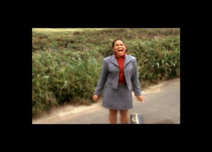 Scream woman, scream!