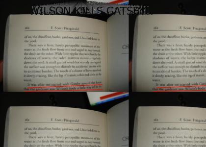 WILSON KILLS GATSBY!!!