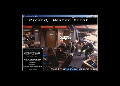 Picard, Master Pilot, the game!