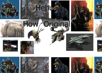 Halo... How Original