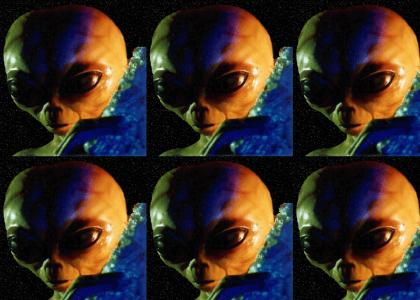 Brian peppers is... a space alien