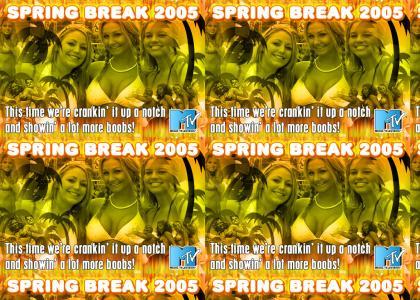 SPRING BREAK 2005 on MTV