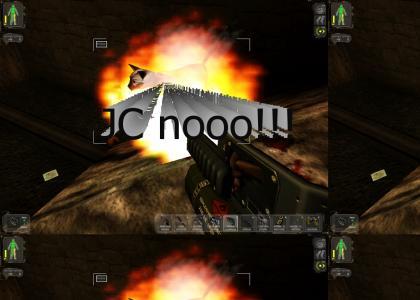 Deus Ex is not Doom... or is it? (warning: virtual animal cruelty inside)