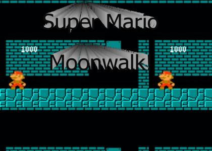 mario moonwalk