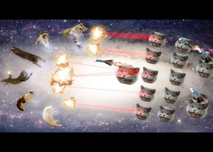 NEDM Army Attacks Gravity Cat and Allies (Now with chapstick rockets!)