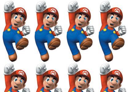 Mario Shaved