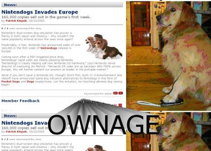 Nintendogs PWNS the PSP's European sales