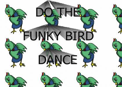 funky bird dance