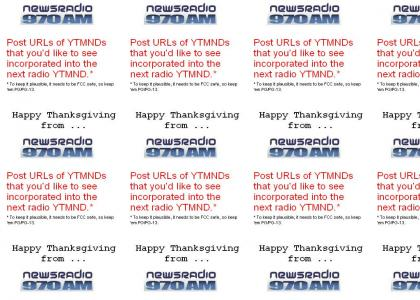 Happy Thanksgiving from Newsradio 970
