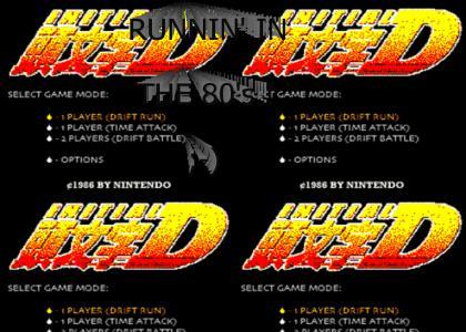 Initial D NES !