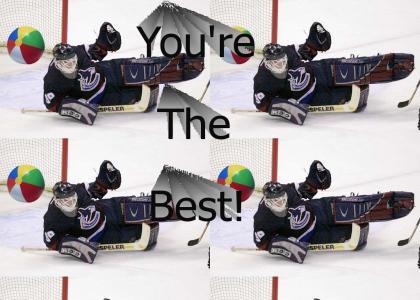 "Hockey - Dan ""The Man"" Cloutier"