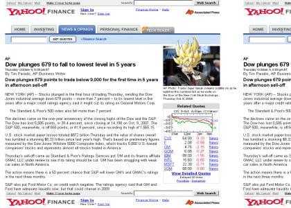 Dow Jones is UNDER 9000!!!