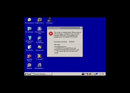 Epic Windows XP Maneuver
