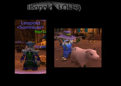Leopold is serious!