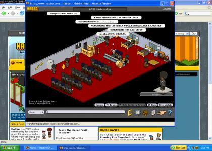4chan EPIC habbo hotel raids