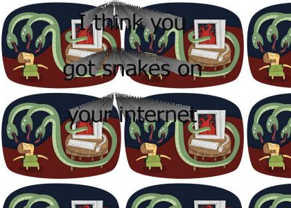 Snakes on your Internet