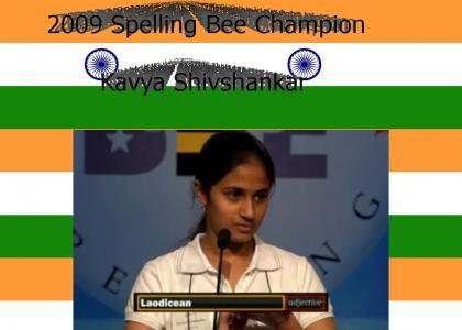 Indian Spelling Bee Champion -- Basshunter Parody
