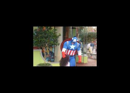 Captian America NOOOOOO!!!!!!!!!!